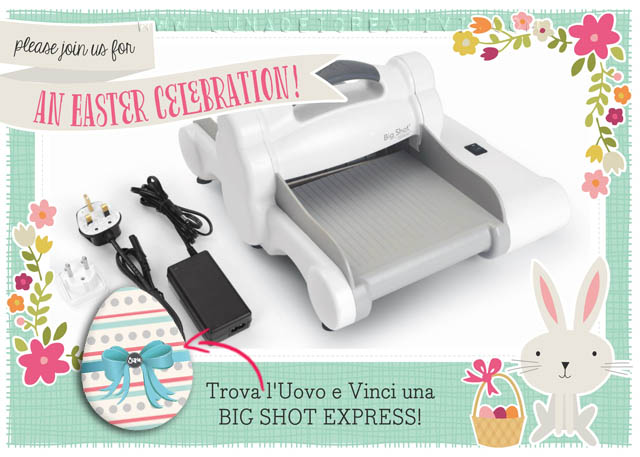 Easter Egg Hunt: Trova l'Uovo e Vinci una Big Shot Express!