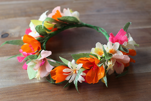 diypaperflowercrown