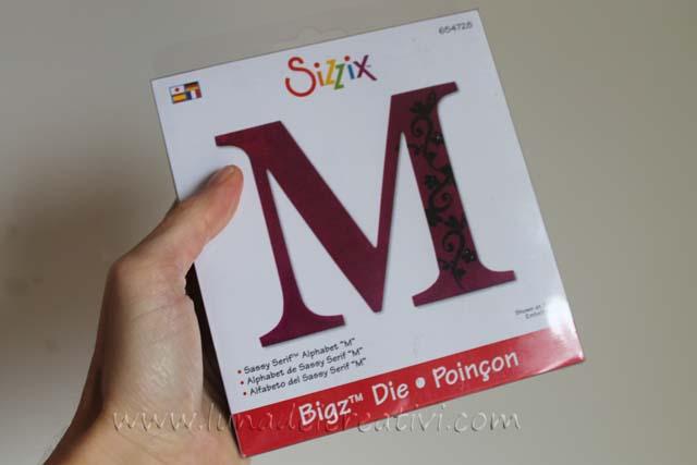 alfabeto big shot M