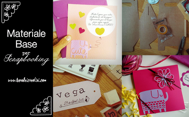 Wishlist: Materiale Base per Scrapbooking (parte I)