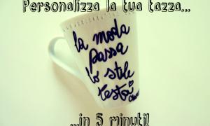 Personalizza la Tua Tazza con i Pennarelli per Ceramica