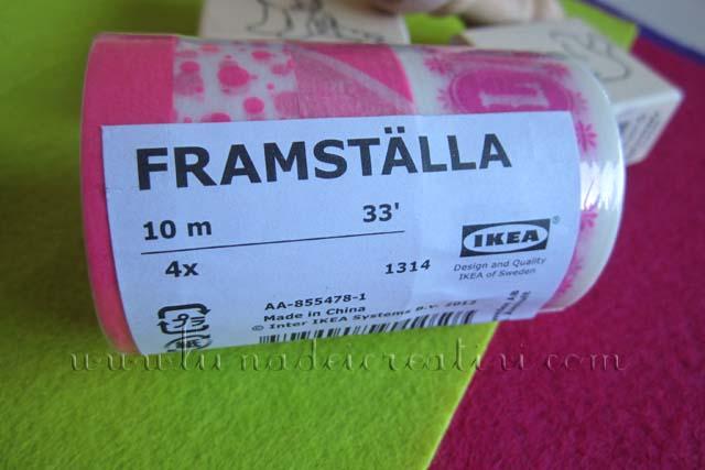 Washi Tape FramStälla IKEA