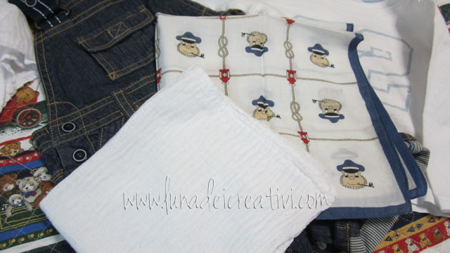 3_Foulard e fazzoletto bianco