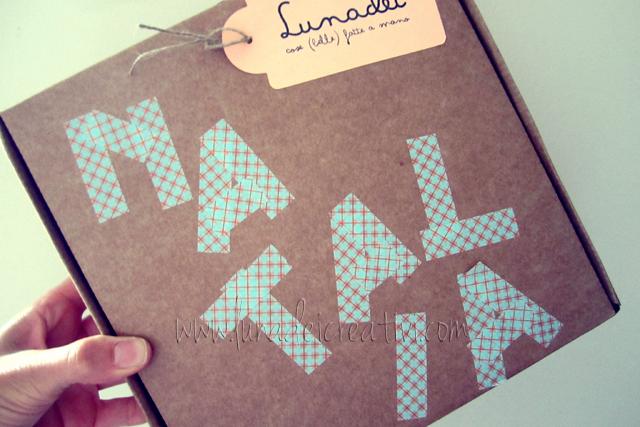 pacchetto con washi tape Natalia