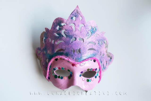 maschera veneziana finita