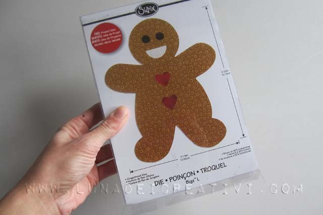 Bigz Gingerbread Man