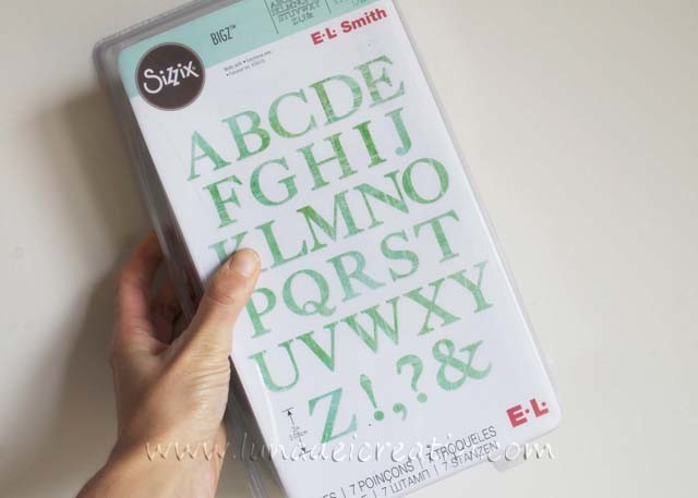 Alphabet Dies Serif Essentials